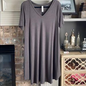 NWOT Charcoal Swing Dress XL